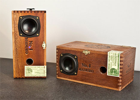 Smokin' Sound: Wooden Cigar Boxes Upcycled into Speakers | Gadgets ...