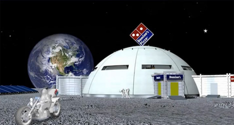 1 Giant Leap For Junk Food Domino S Conquering The Moon
