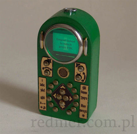 Calling History: Totally Gorgeous Steampunk Cell Phone Mod ...