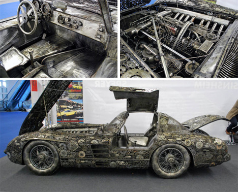 Project steampunk heckflosse on pinterest 53 images on for Mercedes benz scrap yard