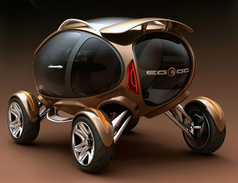 electric bubble car could change our idea of electric cars. Black Bedroom Furniture Sets. Home Design Ideas