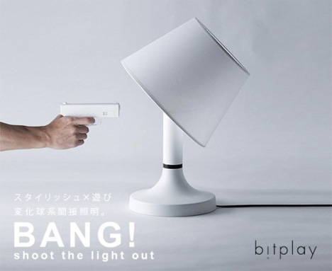 Oh, Shoot! Gun-Controlled Lamp Lets You Be Like a Cowboy | Gadgets ...
