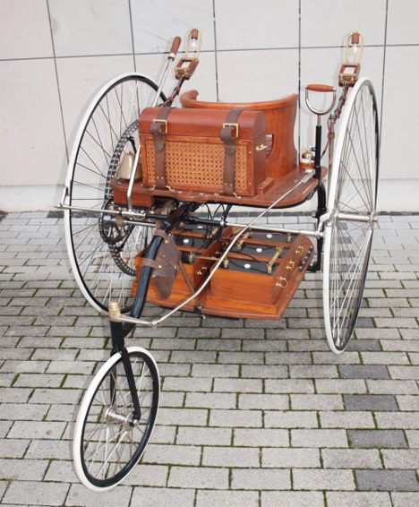 electric vehicle cars very 1881 tricycle roll tesla ev gajitz ceo musk elon worlds motor years perry brought ayrton trikes