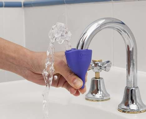 Id tap that simple device turns faucets into fountains for Is bathroom tap water drinking water