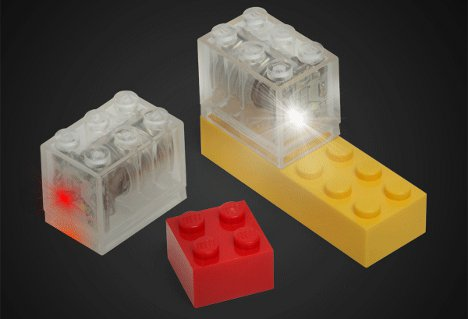 Flashes of Creativity? Brilliant Light-Up LED LEGO Blocks ...