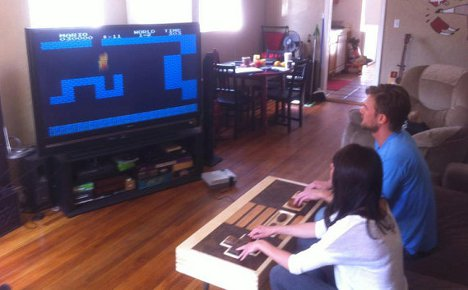 Nes Controller Coffee Table Is A Dual Functional Work Of