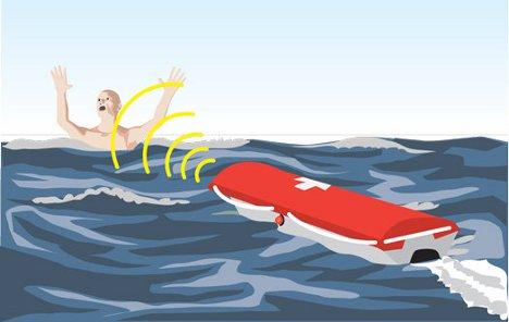Robo Rescue Motorized Beach Flotation Device Saves Lives