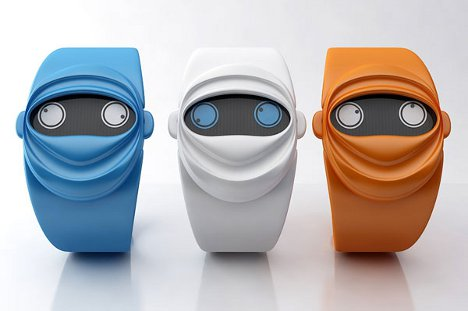 Sneaky Time: Ninja Face is a Watch You Never Saw Coming ...