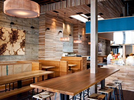 Restaurant Quiets The Crowds With High Tech Sound System