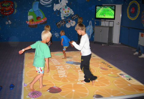 Projector Games Turn Any Floor Into An Indoor Soccer Pitch