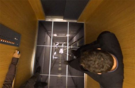 And the bottom drops out lgs hilarious elevator prank for Elevator floor prank