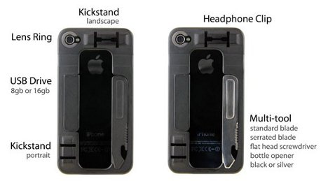 Multi Functional Iphone Case The Swiss Army Knife Of