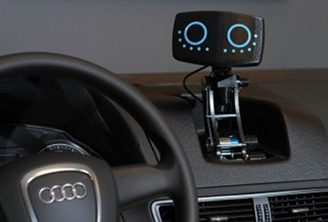 Helpful Little Car Robot Is The Wall E Of Driving