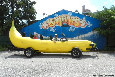A Peel Ingly Fast Car Superbly Silly Giant Yellow Banana Car