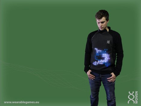 clothing based video game controller