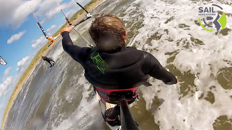 3rd person view windsurfing