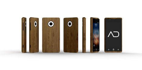 adzero mobile phone bamboo
