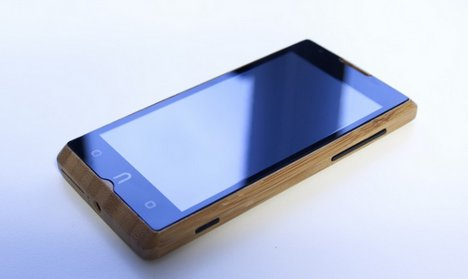bamboo mobile phone