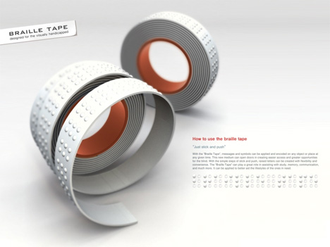 braille tape concept