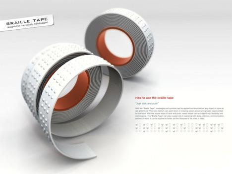 braille tape concept