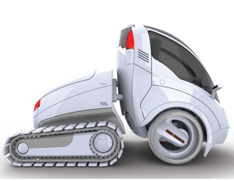 citi transmitter concept car