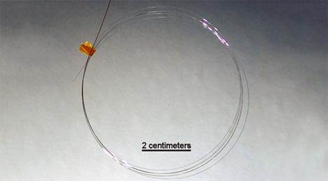 flexible fiber optic solar cells