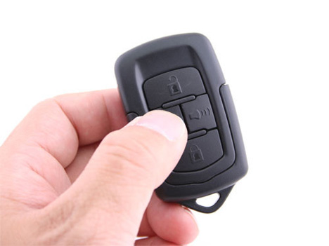 infrared car key spy cam