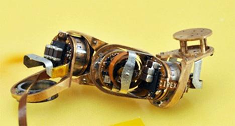 milli-motein folding robots