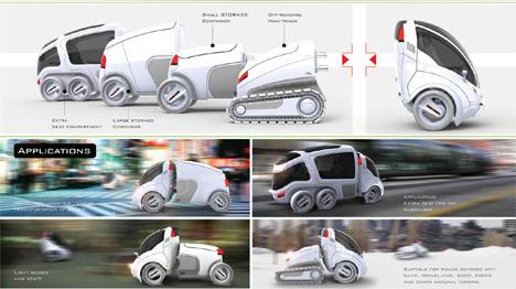 modular city car