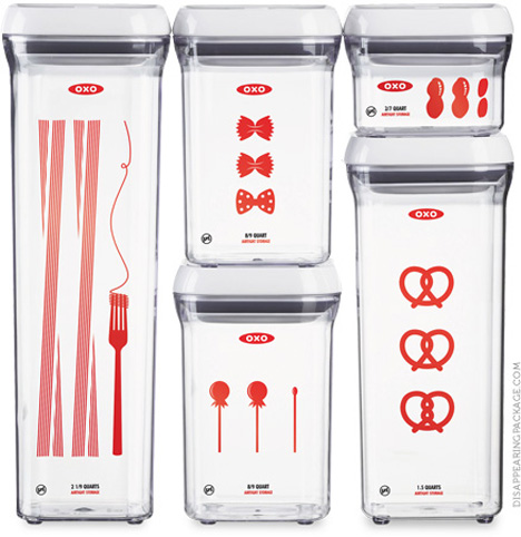 oxo disappearing package