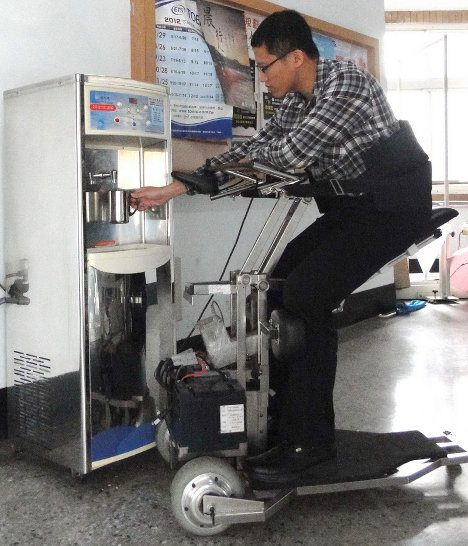 standing lifting wheelchair