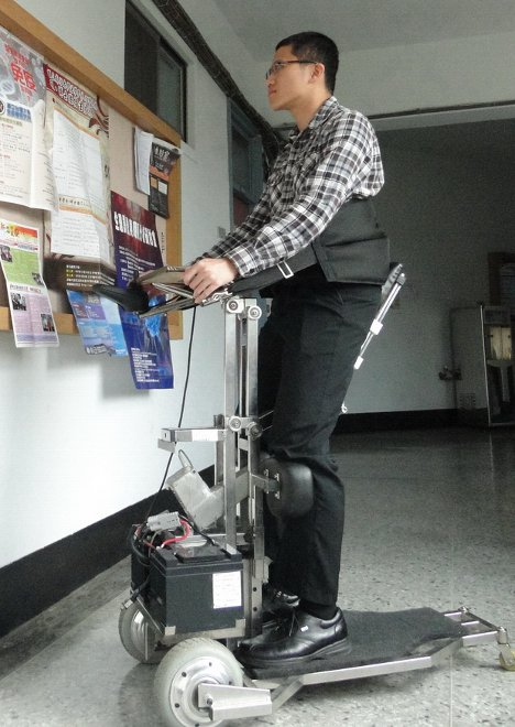standing robotic wheelchair