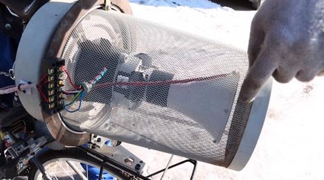 air filter bike