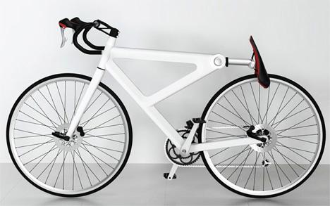 folding saddle bike lock