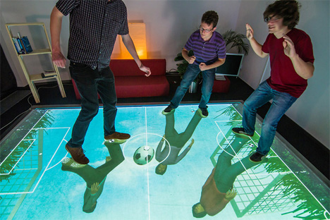 gravityspace and multitoe smart floor