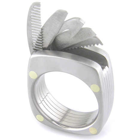 Go Go Gadget Jewelry Ring Puts Tools At Wearer S