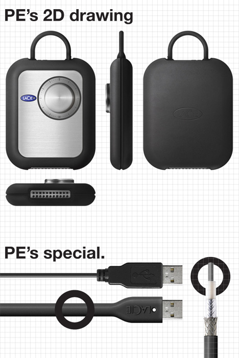pe data security external hard drive