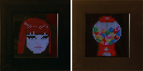 pixel interactive light art
