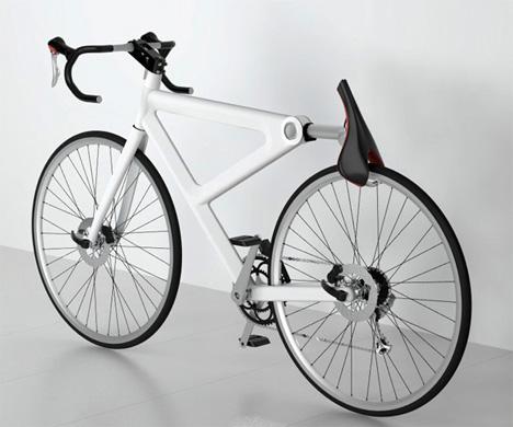 saddle bike lock
