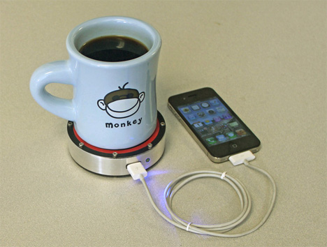 stirling engine phone charger