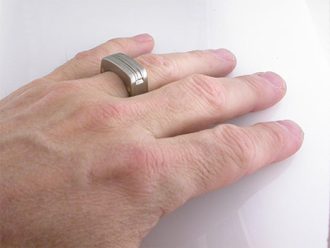 c4d7b7fc8c4 The Man Ring from Etsy seller Boone Rings is made from aerospace-grade  titanium and held together with brass rivets. When all of the tools are  folded in