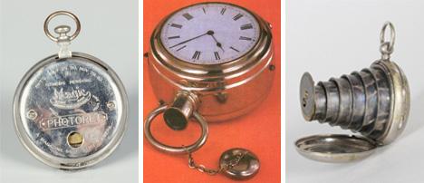 vintage watch cameras