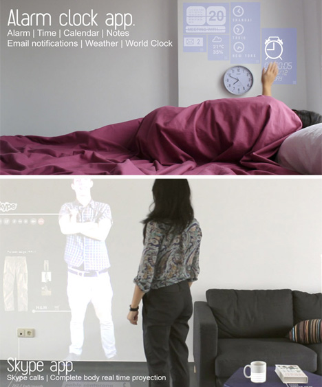 alarm clock and skype