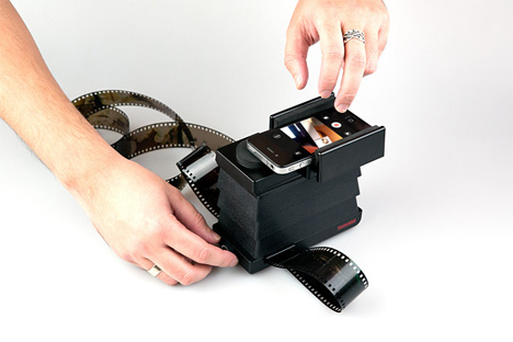 analog negative scanner lomography