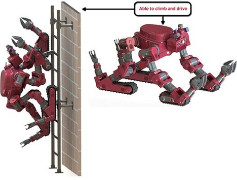climbing chimp robot
