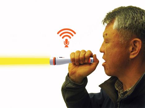 emergency morse code translation flashlight