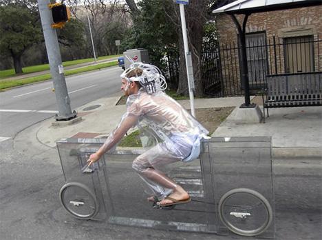 invisible bike