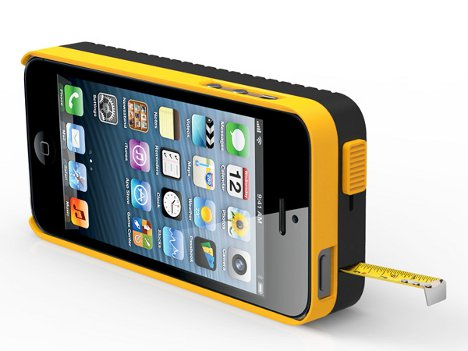 iphone case with measuring tape