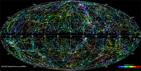 map of the universe small