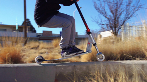 pogo stick scooter
